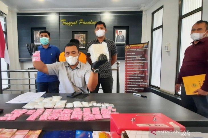 Polda Kalsel ungkap kasus 1,83 kg sabu-sabu