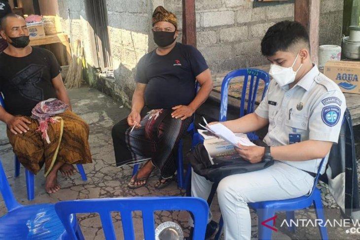 Jasa Raharja Bali santuni empat korban meninggal dunia saat libur Galungan