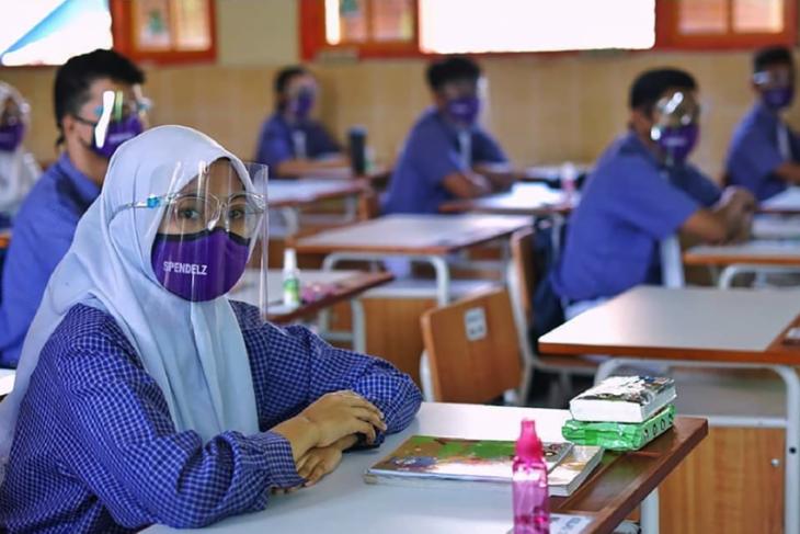 Duta  Satgas Tanggap COVID-19 disiapkan di sekolah dasar Kota Malang