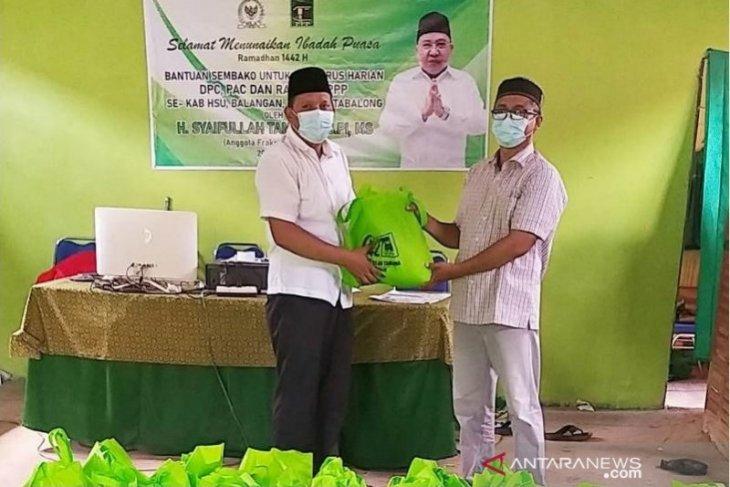 Video - Perbanyak bantuan Sembako, Syaifullah Tamliha berbagi kebahagiaan di Ramadhan