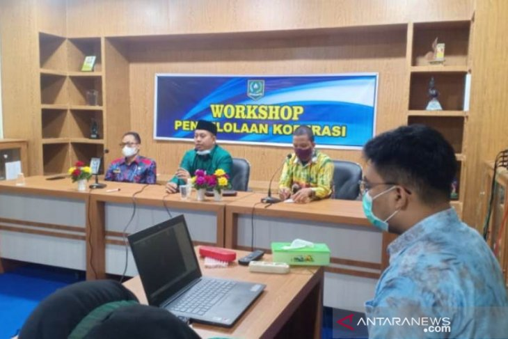 Workshop UPKK STAI Kandangan tahapan awal bentuk koperasi