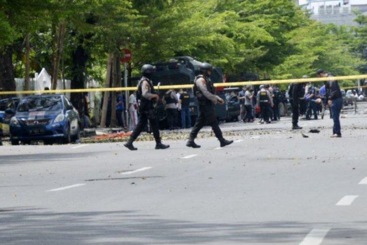 Kamis siang, Densus 88 Polri tembak mati seorang terduga teroris