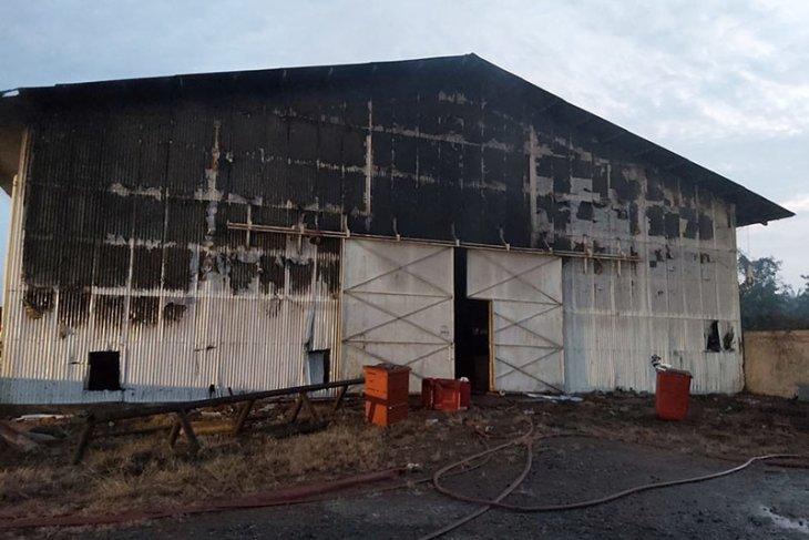 Gudang Pertamina di Aceh Tamiang terbakar