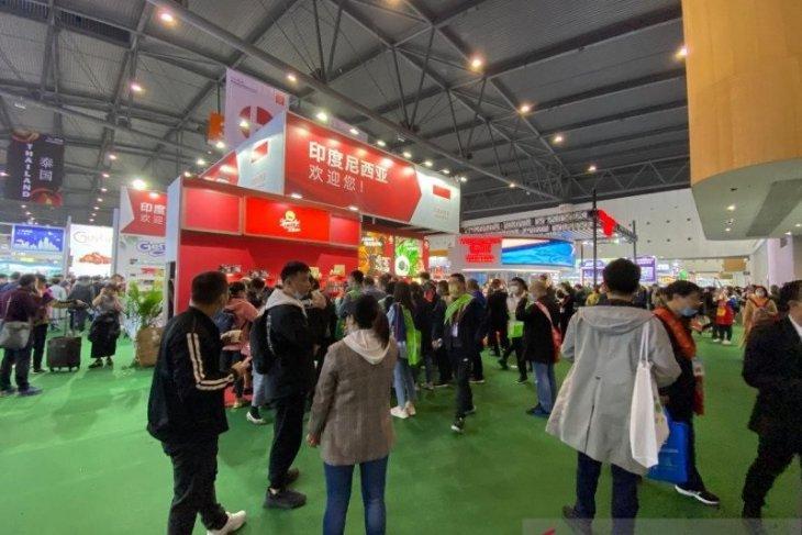 Indonesia raup Rp405 juta dari pameran makanan-minuman di China