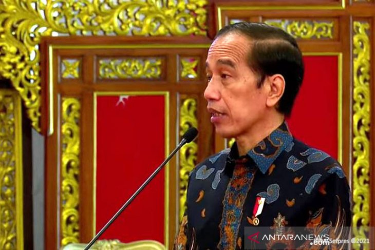 Presiden Jokowi sebut indikator kinerja PMI sudah lampaui tingkat kenormalan