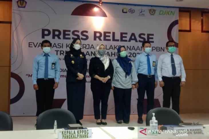 Penerimaan pajak triwulan I 2021 di Bangka Belitung Rp311,36 miliar
