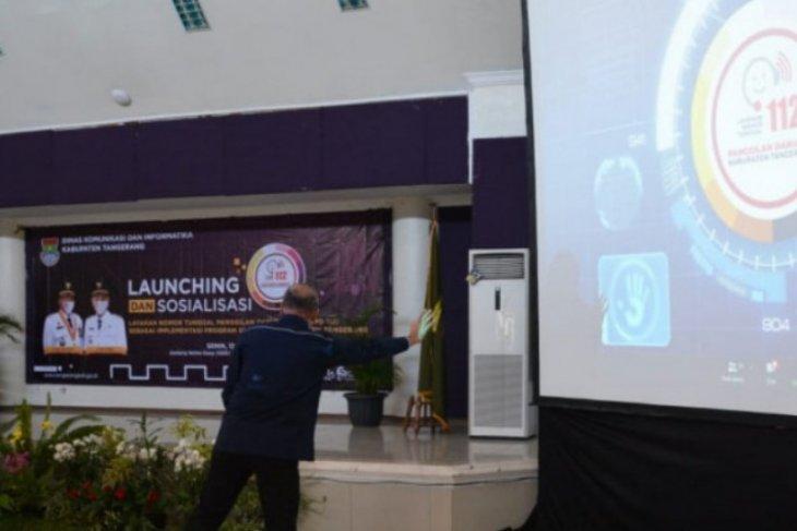 Bupati Tangerang luncurkan layanan nomor tunggal darurat 112