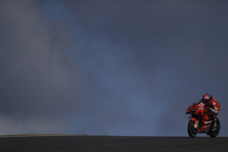 MotoGP: Bagnaia puncaki sesi latihan bebas GP Portugal