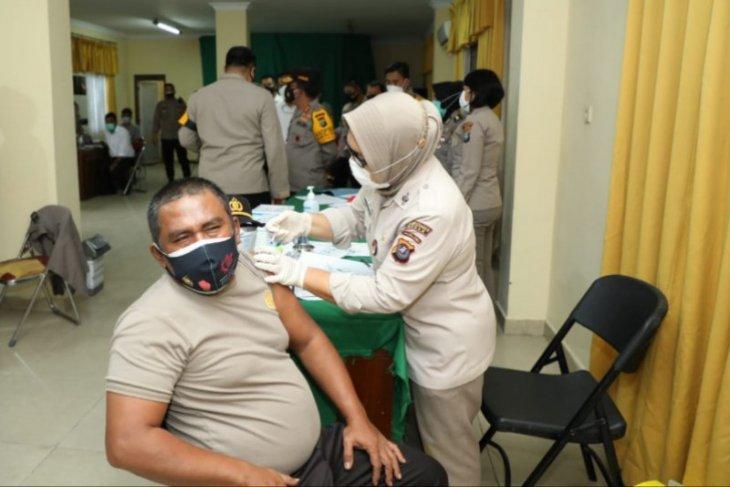 17.716 personel Polda Sumut sudah  divaksinasi COVID-19