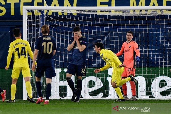 Villarreal menang agregat atas Dinamo, AS Roma singkirkan Ajax