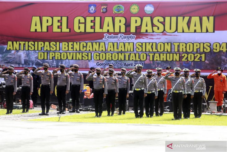Tim gabungan disiagakan antisipasi dampak siklon tropis di Gorontalo