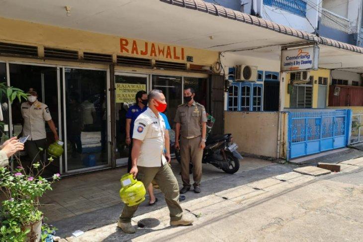 Pertamina dan Satpol PP Pontianak razia elpiji subsidi di warkop dan laundry