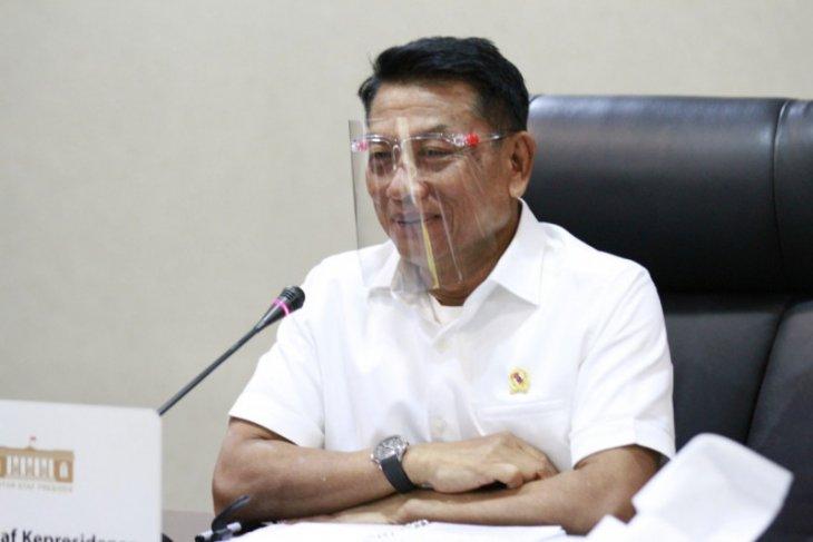 KSP tegaskan hanya Presiden yang tahu soal reshuffle kabinet