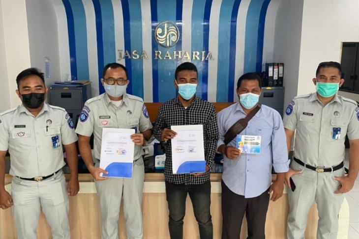 Jasa Raharja Malut  - persatuan speedboat Oba Tengah teken nota kesepahaman