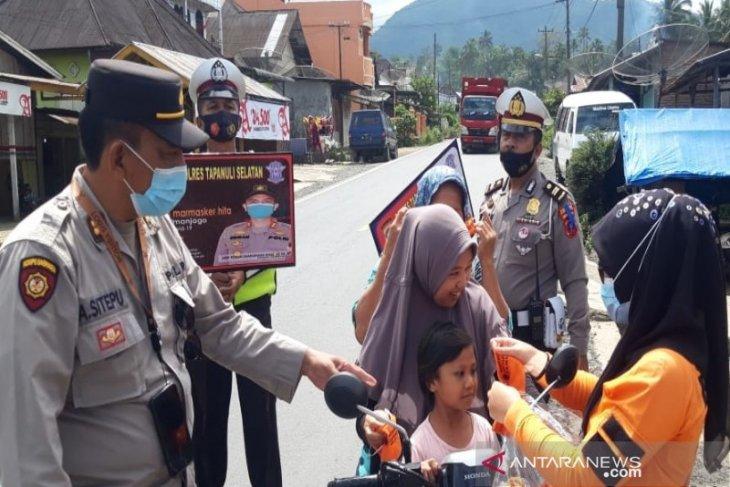 Ramadhan 1442 H, Pemkab-Polres Tapsel operasi yustisi prokes