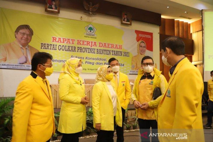 Pemilu serentak 2024, Golkar Banten perkuat konsolidasi