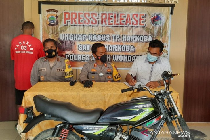Polisi tangkap petugas COVID-19 di Papua Barat karena curi motor