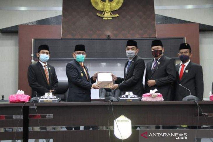 DPRD Banjarmasin sampaikan rekomendasi LKPJ Wali Kota 2020