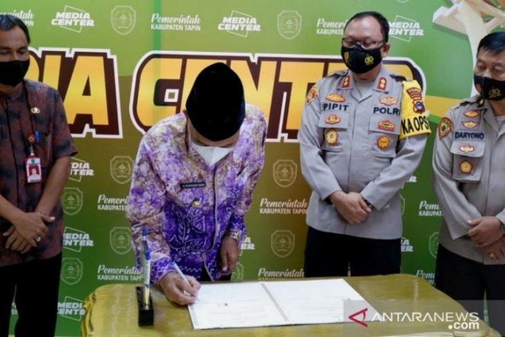 Polres Tapin siap rekrut 30 Bintara, pendaftaran ditutup 18 April 2021