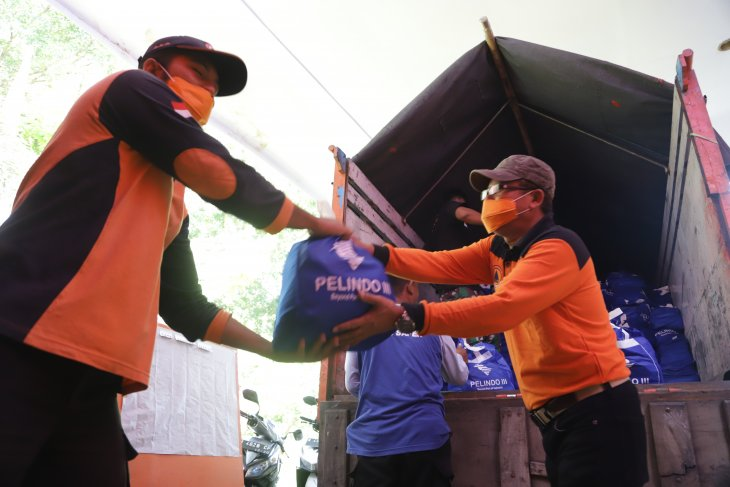 Pelindo III kirim 1.000 paket sembako untuk korban gempa Malang