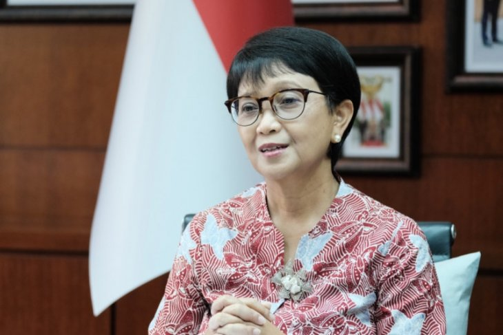 Menlu Retno tegas sampaikan penimbunan dan nasionalisme vaksin