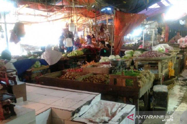 Harga bahan pokok di Sukabumi relatif stabil pada ekan pertama Ramadhan