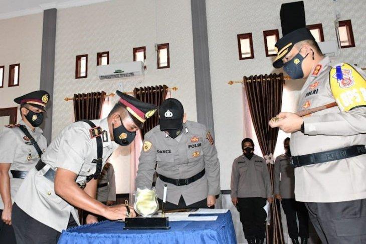 Lima kapolsek dan kasatsabhara polres Aceh Timur diganti