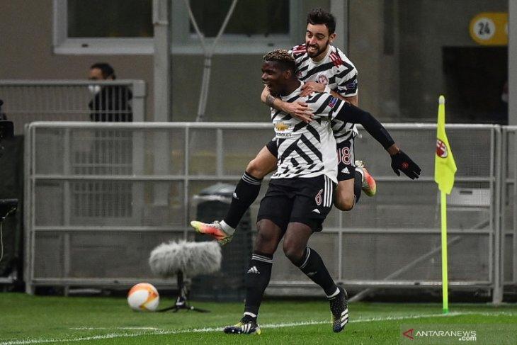 Pogba: Bruno Fernandes bisa melakukan segalanya, kecuali bertahan