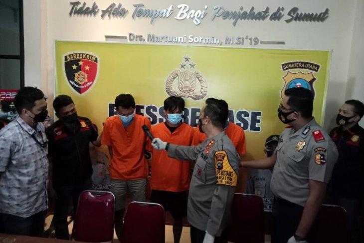 Polisi gagalkan peredaran 40 kilogram  ganja di Deli Serdang