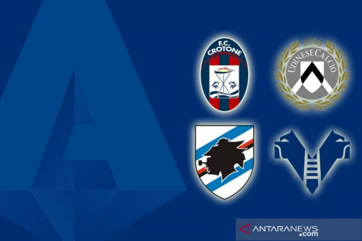 Udinese benamkan Crotone, Sampdoria bangkit tundukkan Verona