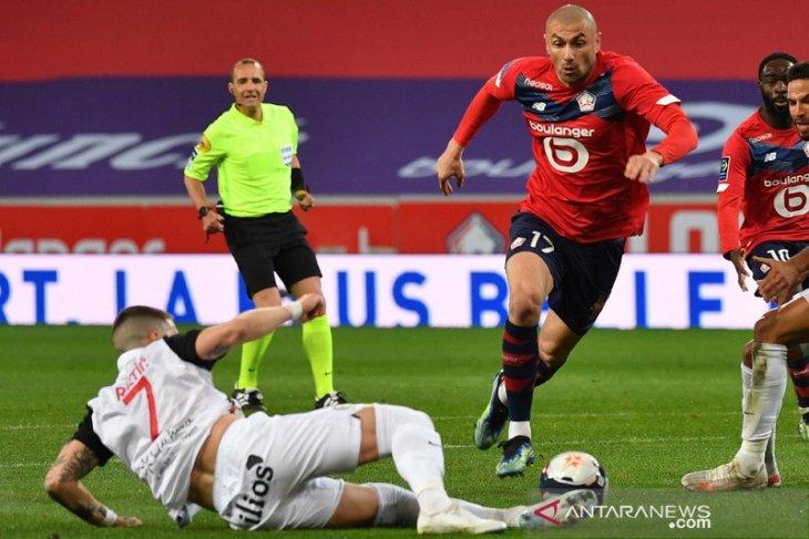 Dijegal Montpellier,  posisi puncak Lille terancam oleh PSG