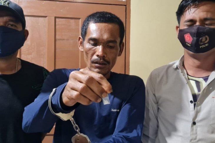 Polsek Sei Bingai tangkap Mol Tazam pemilik sabu-sabu