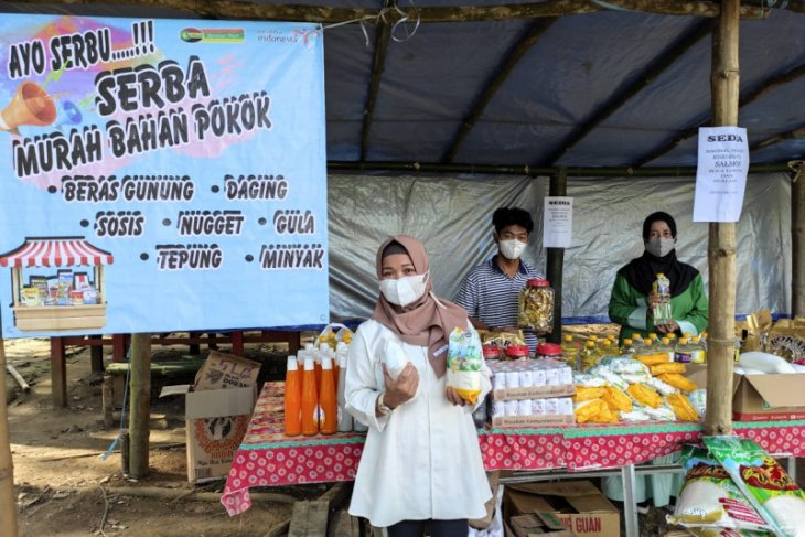 Disporapar Tabalong - Perumda Jaya Persada gelar pasar murah