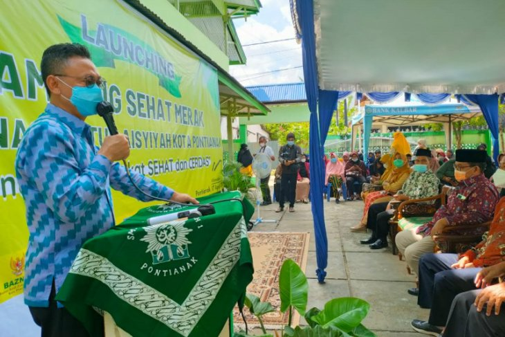 Edi Kamtono apresiasi pembentukan Kampung Sehat Merak