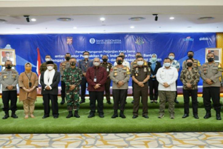 BI Banten, Polda dan Kejati pererat kerjasama bidang penegakan hukum