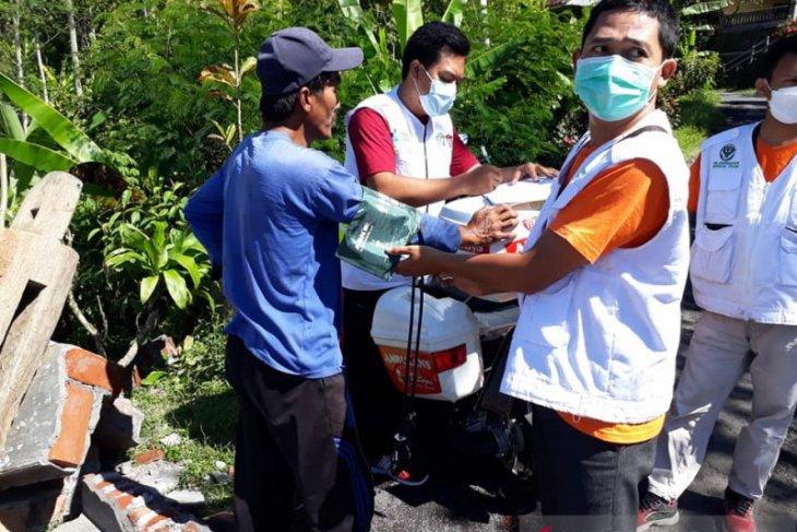 Pemkab Lumajang terjunkan armada motor ambulans di daerah terdampak gempa