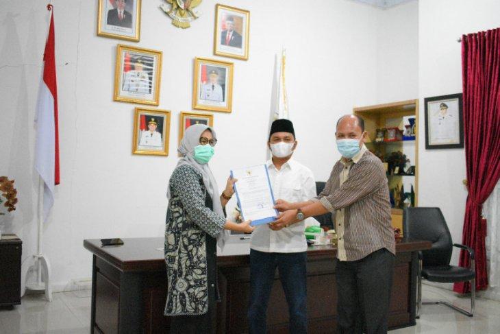 Yetty Sembiring ditunjuk Bupati sebagai Plt Sekda Tapteng