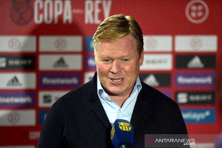 Laporta: Koeman tetap latih Barcelona musim depan