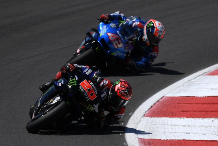 MotoGP: Quartararo juarai GP Portugal, rival-rival bertumbangan
