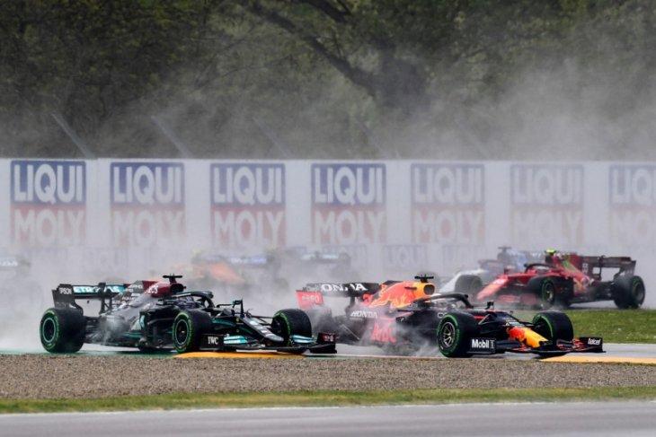 Formula 1: Russel dan Bottas tabrakan, GP Emilia Romagna dihentikan sementara