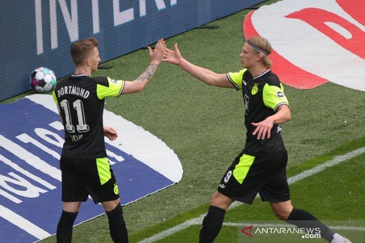 Dortmund hidupkan kembali asa ke Liga Champions setelah lumat Bremen