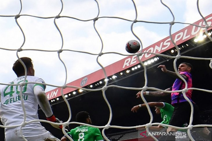 Liga Prancis: PSG tundukkan Saint-Etienne dalam laga sengit