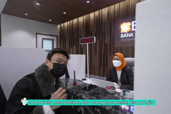 Youtuber asal Korsel Jang Hansol kunjungi BNI Seoul