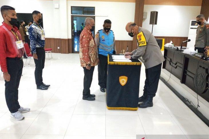 Kapolda Maluku  kelulusan calon taruna Akpol tergantung diri sendiri