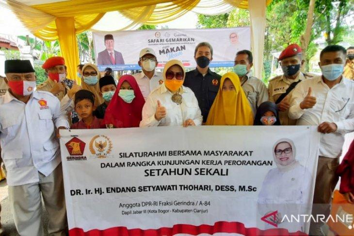 Anggota DPR RI kampanyekan Gemarikan pada masyarakat Kota Bogor