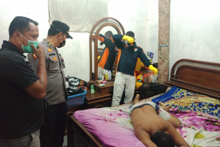 Pria asal Palembang ditemukan meninggal di rumah kontrakan