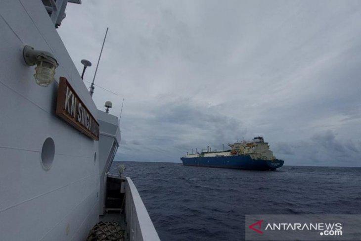 Bakamla RI peringatkan kapal Yunani lalu  lalang di ALKI III