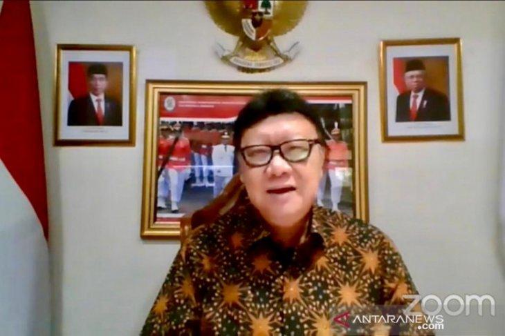 Tjahjo Kumolo mengatakan korupsi masih jadi tantangan reformasi birokrasi ASN