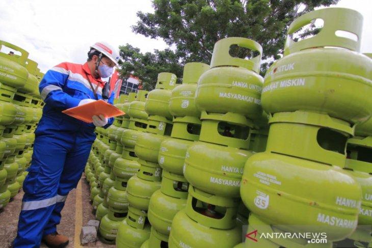 Pertamina tambah pasokan elpiji 3 kilogram Kalimantan