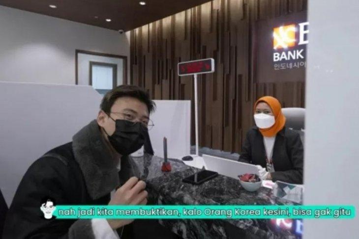 Jang Hansol kunjungi BNI Seoul